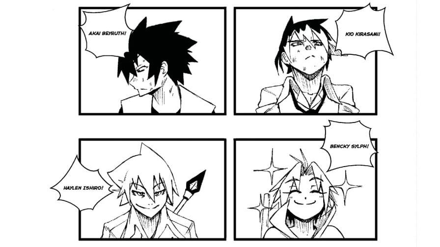 Elemental Kings personagens