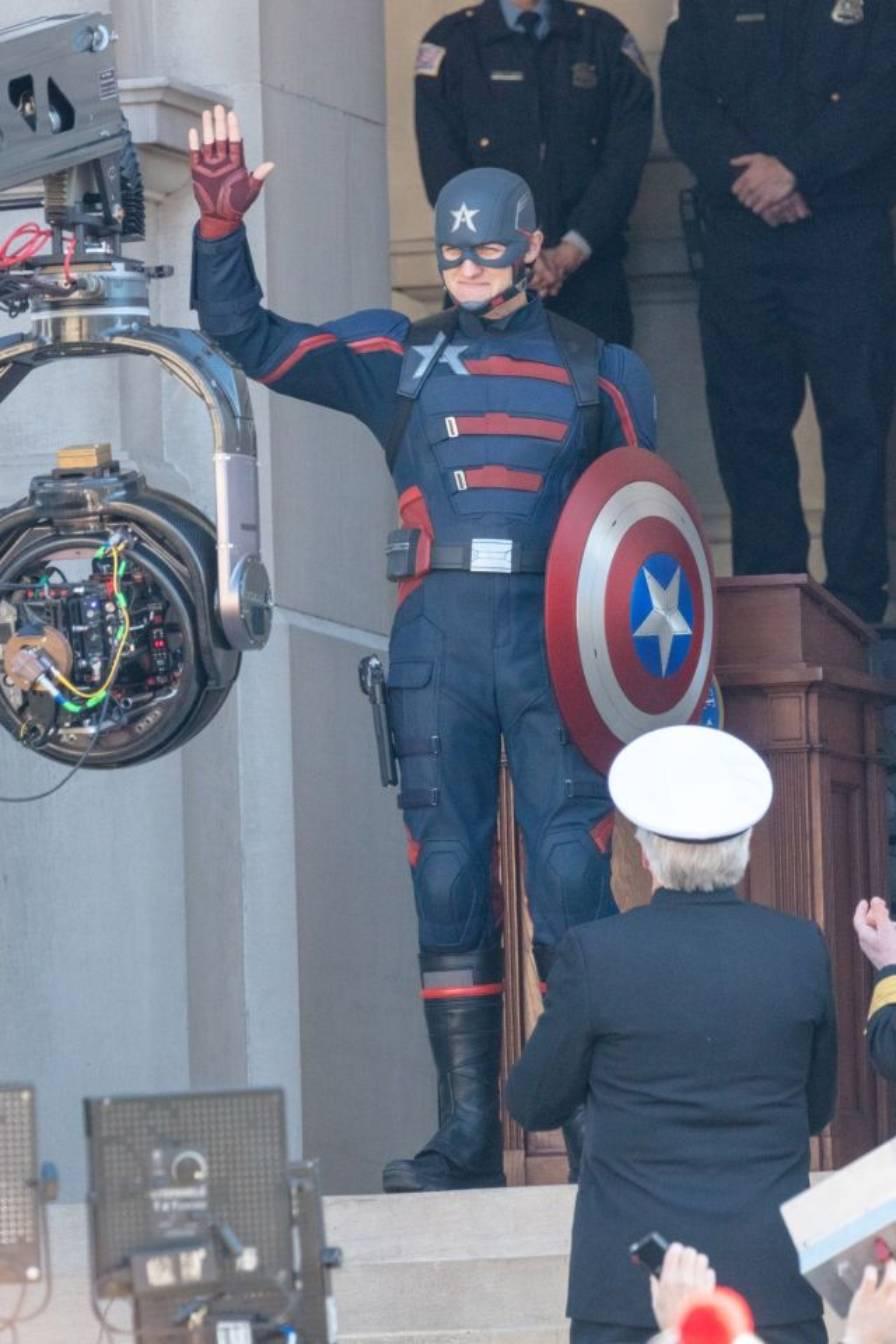 marvel - Agente Americano