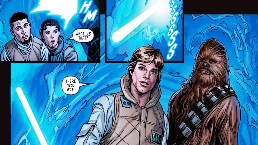 Star Wars pais de Poe Luke Skywalker