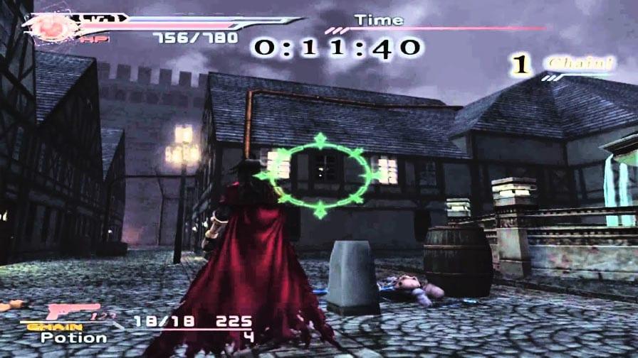 Final Fantasy Dirge of Cerberus gameplay