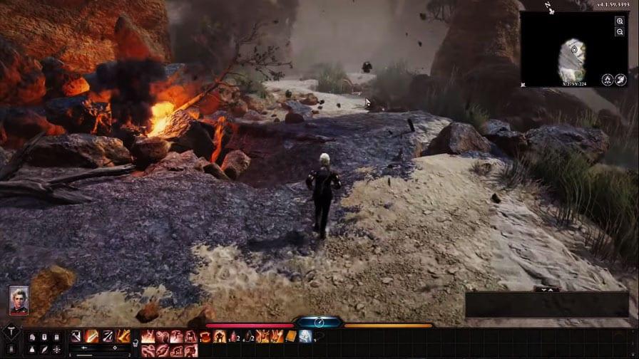 Baldur's Gate 3 ou BG3 da Larian Studios gameplay