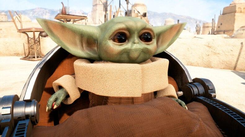 Baby Yoda Star Wars Battlefront 2