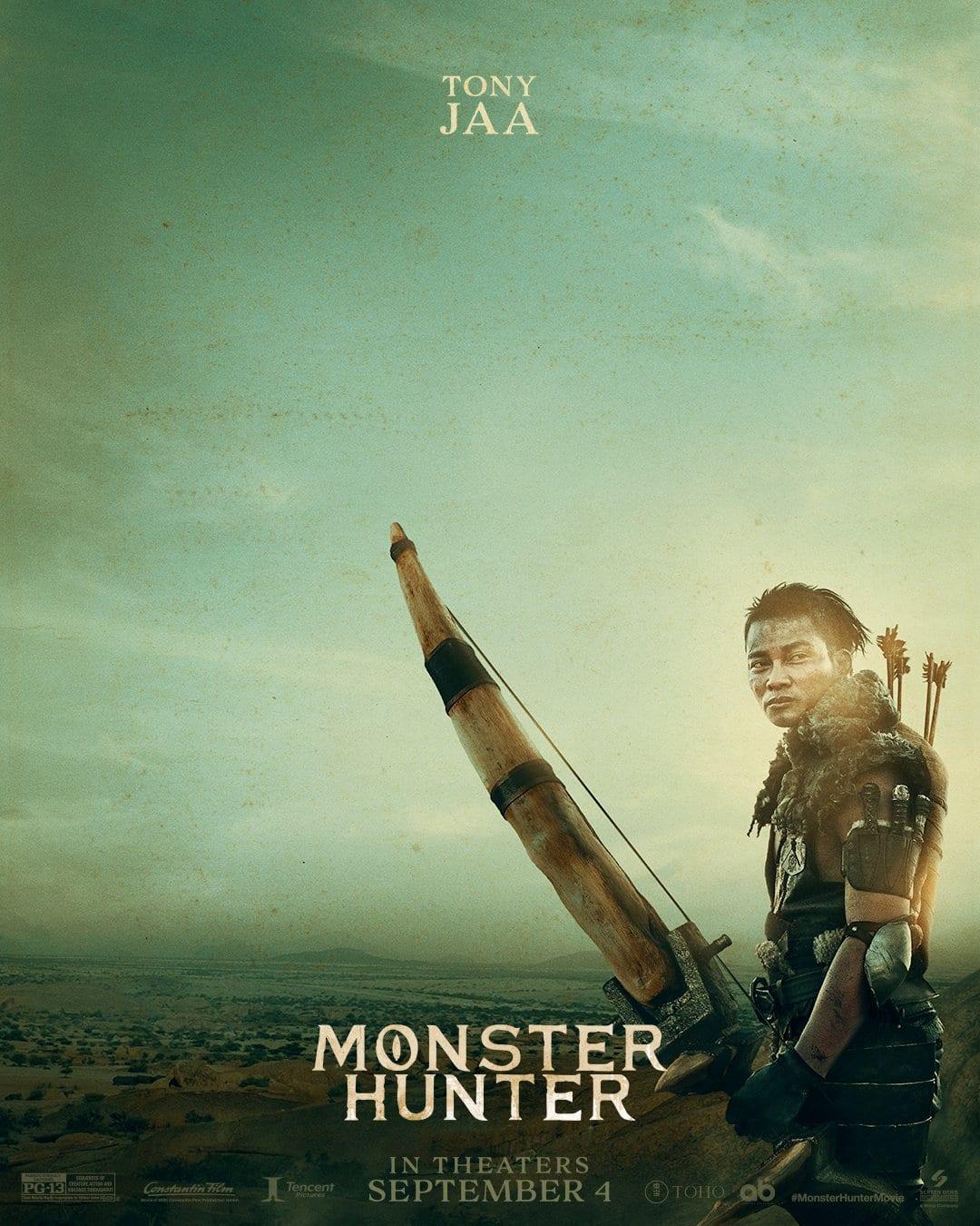 Monster Hunter filme imagens