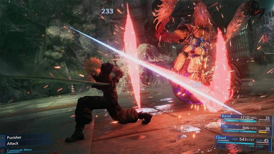 Final Fantasy VII Remake jogabilidade