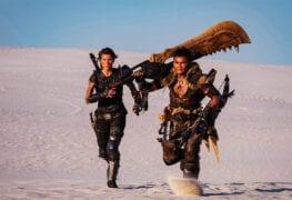 Monster Hunter filme novas imagens