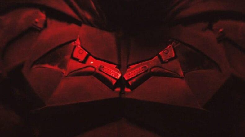 The Batman filme imagens do Batmóvel