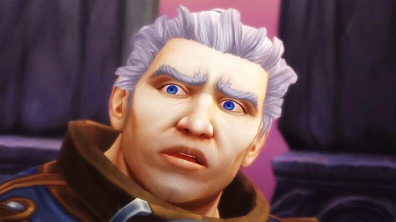 World of Warcraft montanha com forma de bunda