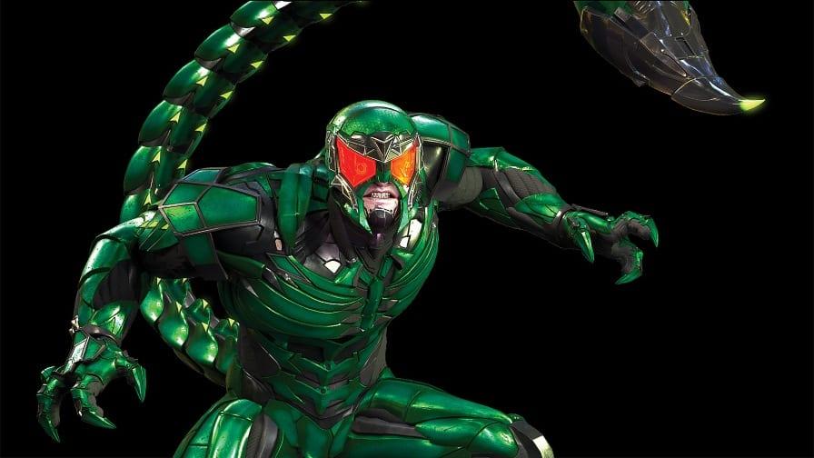 spider-man escorpião