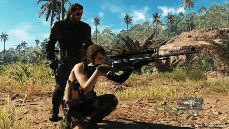Metal Gear Solid 5 Konami cutscene secreta