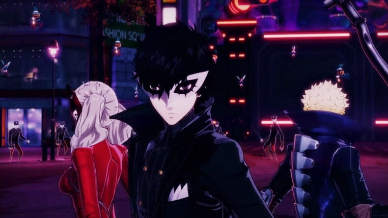 Persona 5 Scramble: The Phantom Strikers Koei Tecmo Ocidente