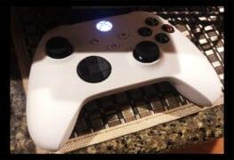 Xbox Series X controle branco