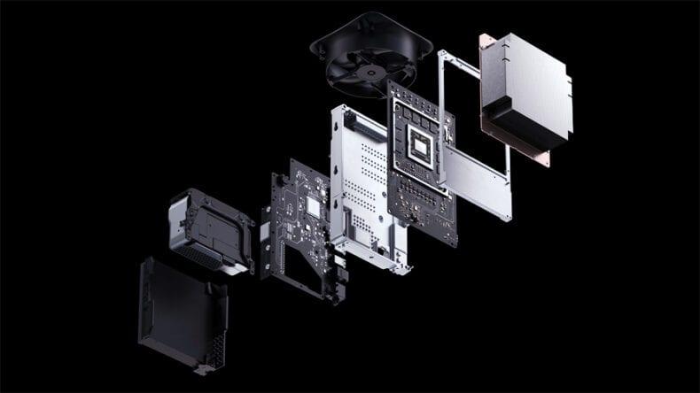 Xbox Series X hardware sem limitações