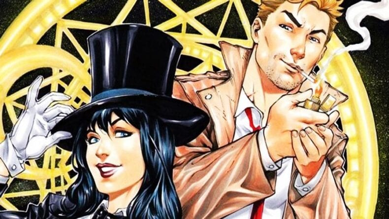 Zatanna DC Liga da Justiça Sombria
