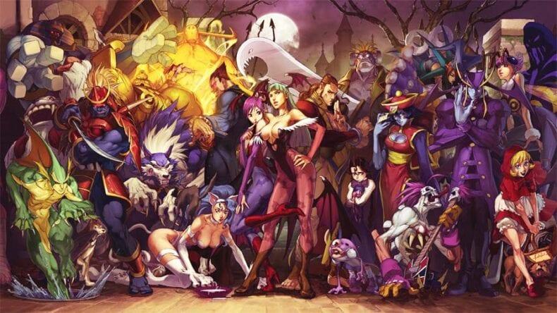 Darkstalkers novo jogo Capcom