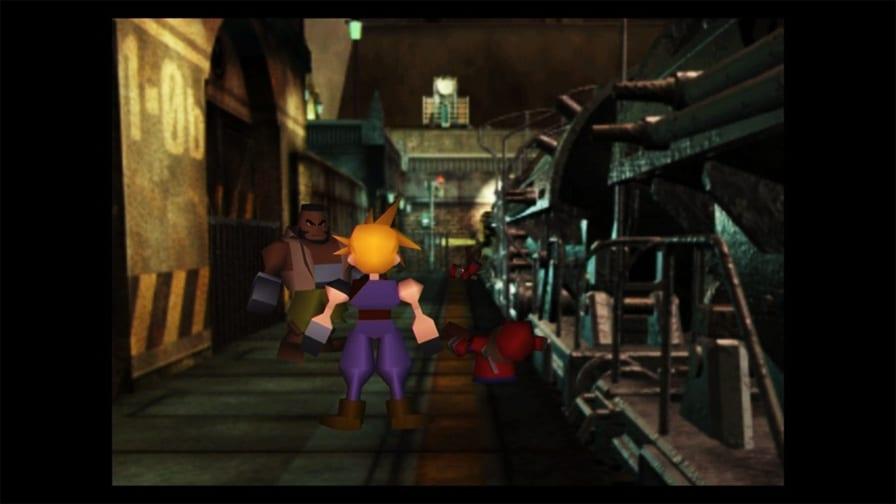 Final Fantasy 7 HD Xbox Game Pas