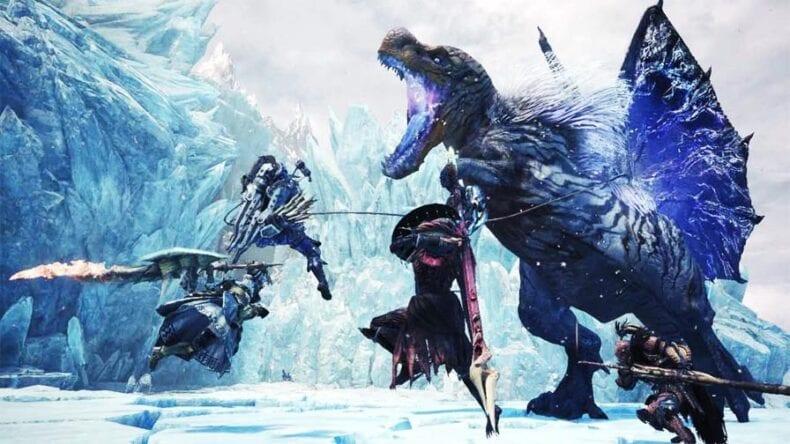 Monster Hunter World vendas Capcom