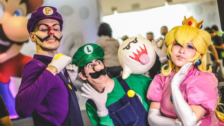 Brasil Game Show cosplay