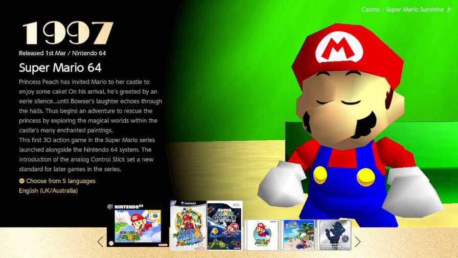 Mario 3D all Stars