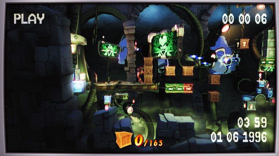 Crash Bandicoot 4 fase cobaia