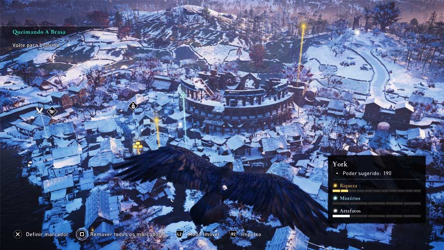 Assassin's Creed Valhalla mundo