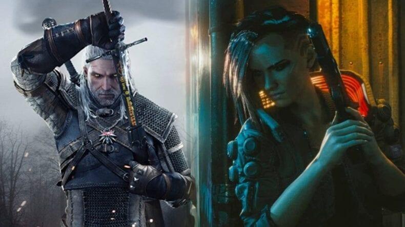 Cyberpunk 2077 e The Witcher 3